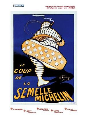 Carte Michelin 100 ème anniversaire Nevers-Chalon/Saône N°24