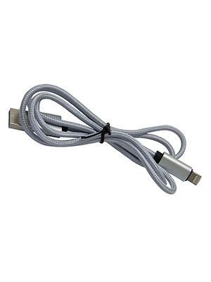 Câble Hartsfield 2 en 1 micro-USB Argent