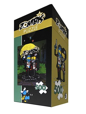 Puzzle 500 pièces Zombis