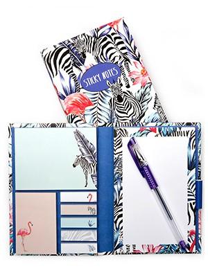 Carnet de notes Zebra