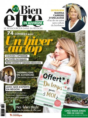 Bien Etre En Auvergne N°1 + livre Du Temps pour Moi OFFERT