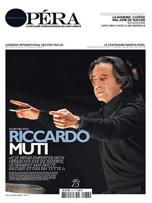 Opéra magazine n°73