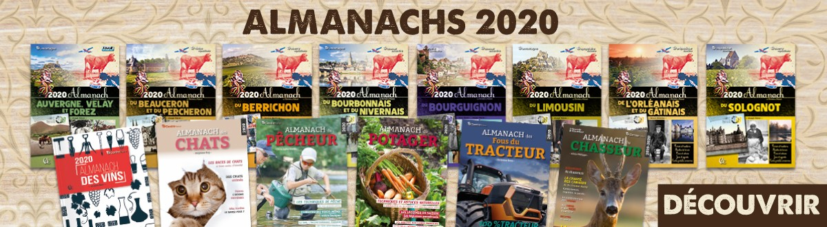 Nouveautés Almanachs 2020