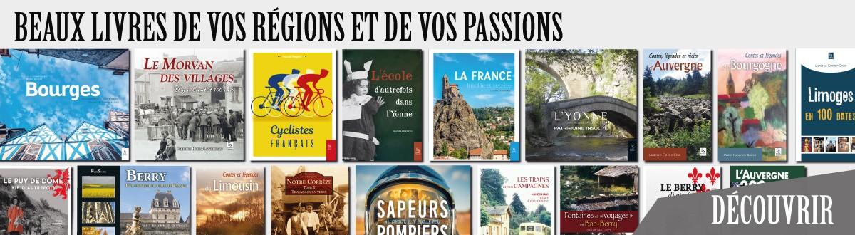 Beaux livres de vos régions et de vos passions, aux éditions Sutton