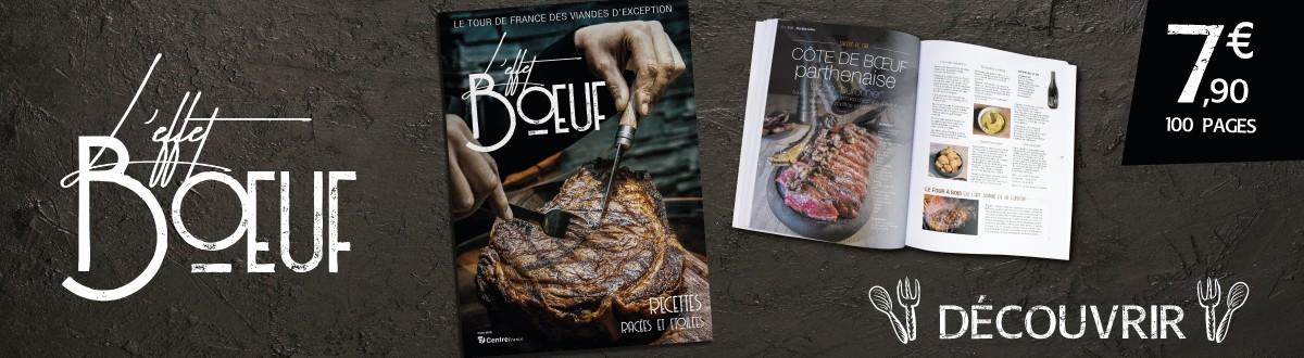 Hors-série L'effet boeuf, pour un tour de France des viandes d'exception