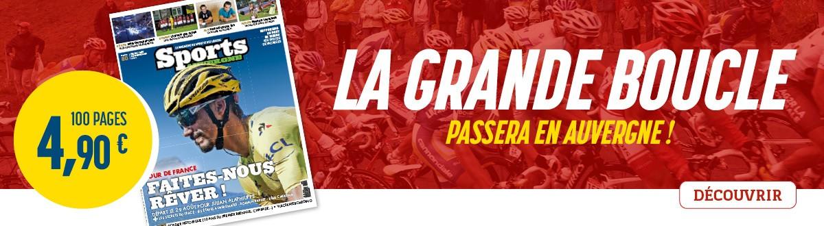 Sports Auvergne n°80, Tour de France à la Une en Auvergne