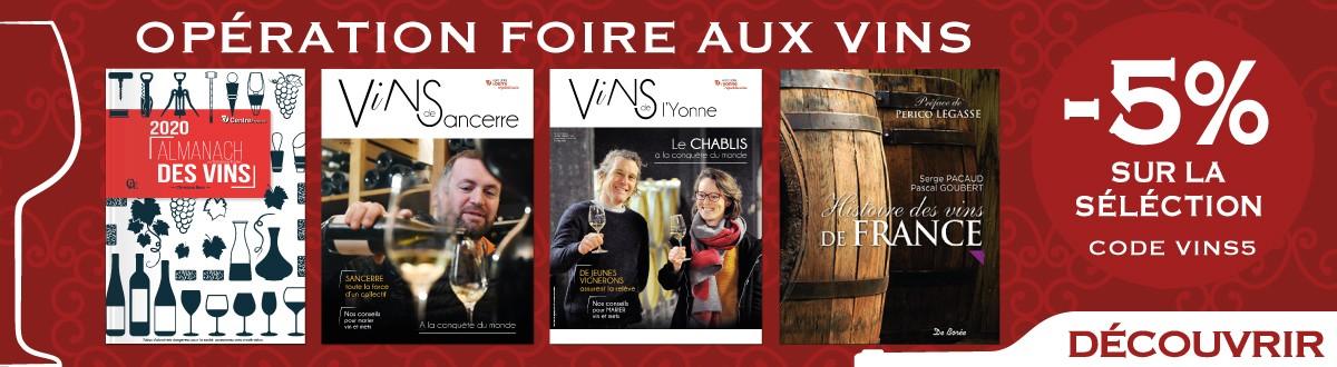 -5% sur les produits de la sélection Opération Foire aux vins
