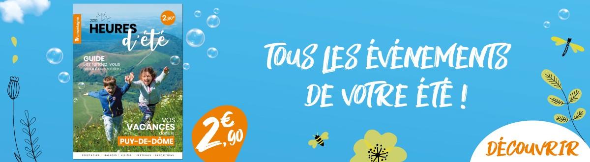 Tous les événements dans le département Puy-de-Dôme pour cet été