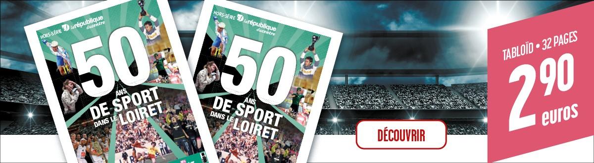 50 ans de sport dans le Loiret