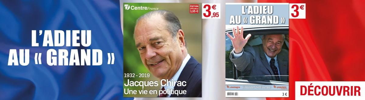 Lectures spéciales Jacques Chirac